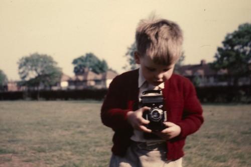 ian with a camera